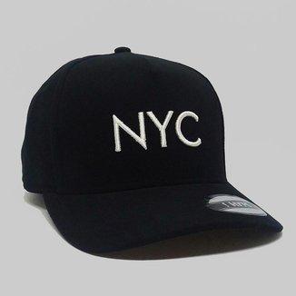 Boné Aba Curva Strapback Hype NYC Fitão 84472