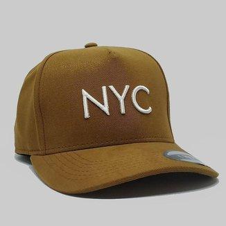 Boné Aba Curva Strapback Hype NYC Fitão 84475