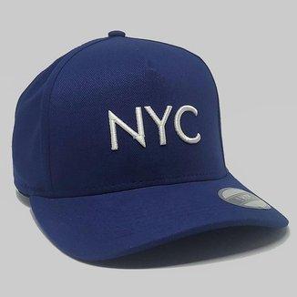 Boné Aba Curva Strapback Hype NYC Fitão 86395