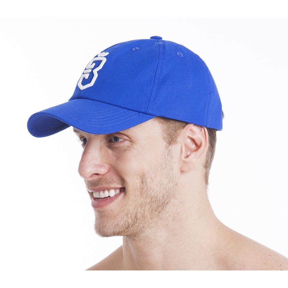 Boné Aba Curva Strapback Unissex - Azul - Compre Agora  c800c988f38