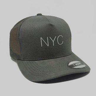 Boné Aba Curva Trucker Hype NYC 85871