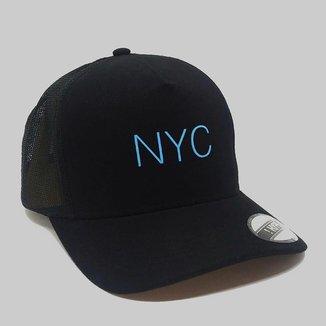 Boné Aba Curva Trucker Hype NYC 85873