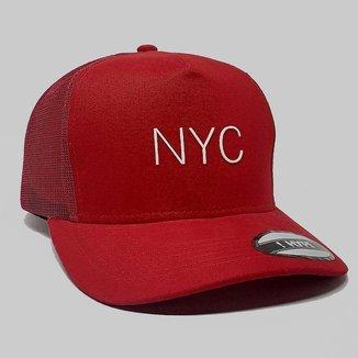 Boné Aba Curva Trucker Hype NYC 85874