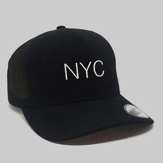 Boné Aba Curva Trucker Hype NYC 85875