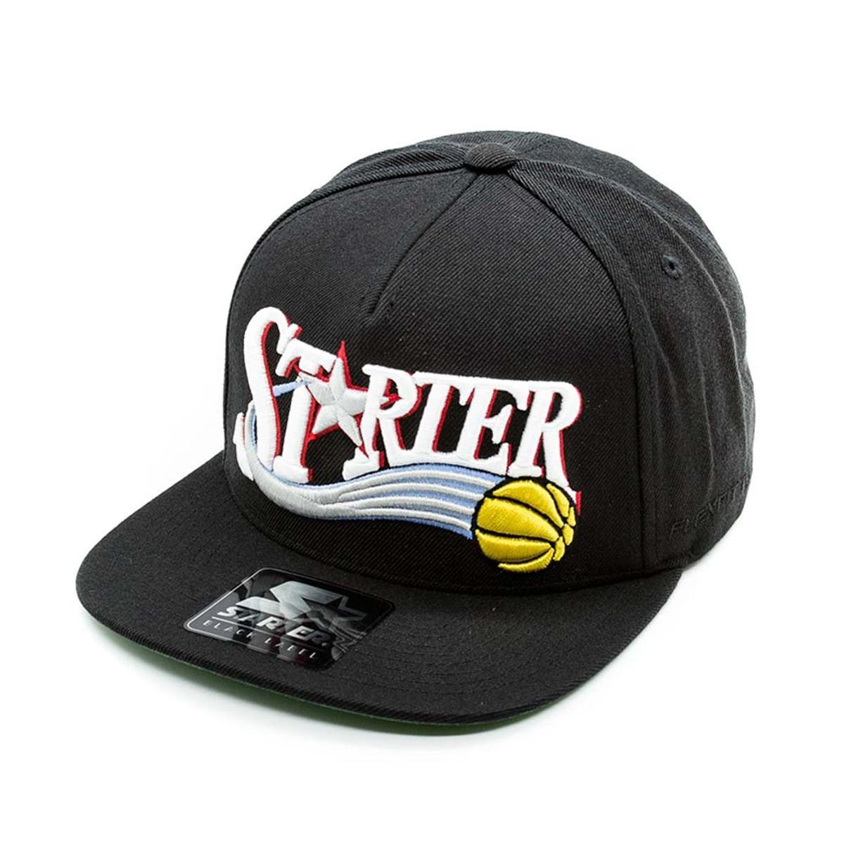 Boné Aba Reta Starter Basketball - Preto - Compre Agora  f402b14eeee