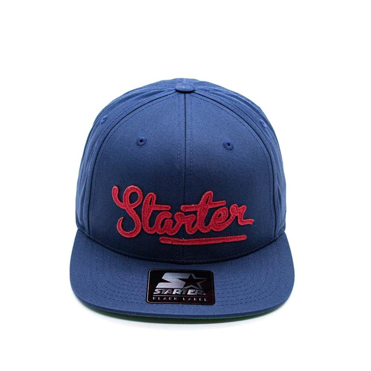 Boné Aba Reta Starter - Azul e Vermelho - Compre Agora  571da524b41