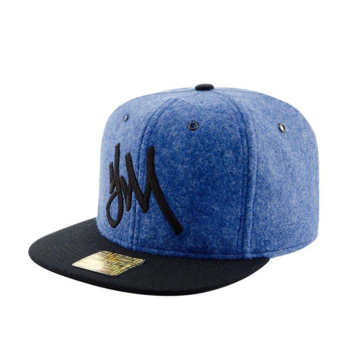 a76e83aa6f Boné Aba Reta Young Money Snapback Starting Veludo - Azul - Compre ...