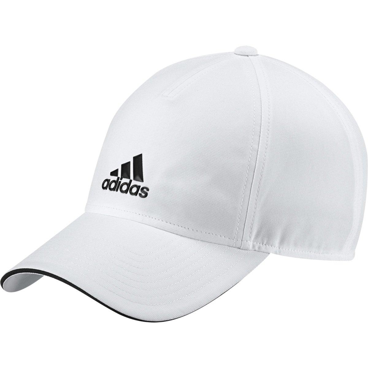 891a2b9c5e6b3 Boné Adidas Aba Curva 5P Climalite - Branco e Preto - Compre Agora ...