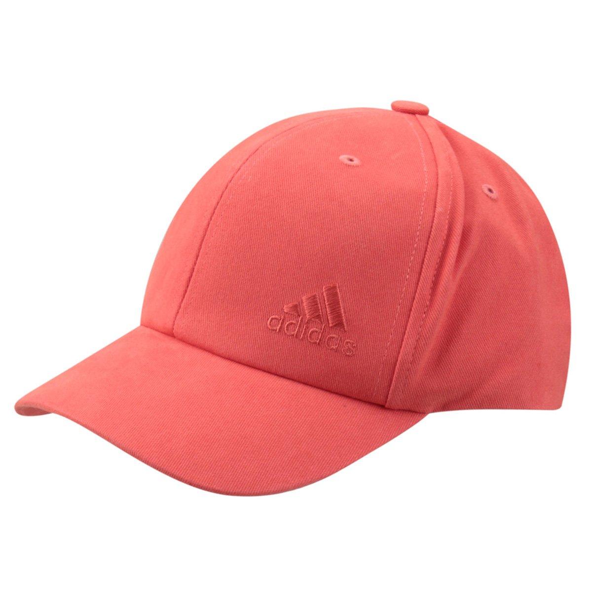 Boné Adidas Aba Curva 6P Feminino - Vermelho - Compre Agora  44fde6b23cf