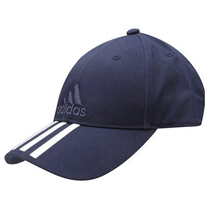 Boné Adidas Aba Curva Essential 3S Cotton - Compre Agora  ff5c2a38944