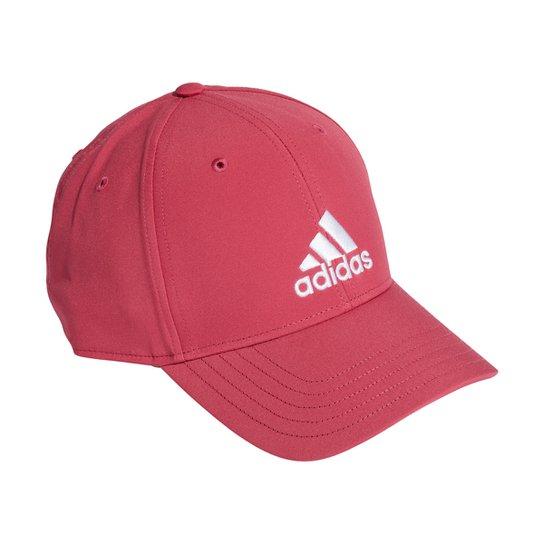 Boné Adidas Aba Curva Strapback Baseball Logo - Rosa