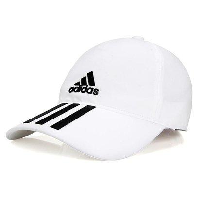 Boné Adidas Aeroready 3S Baseball Hat Branco e Preto