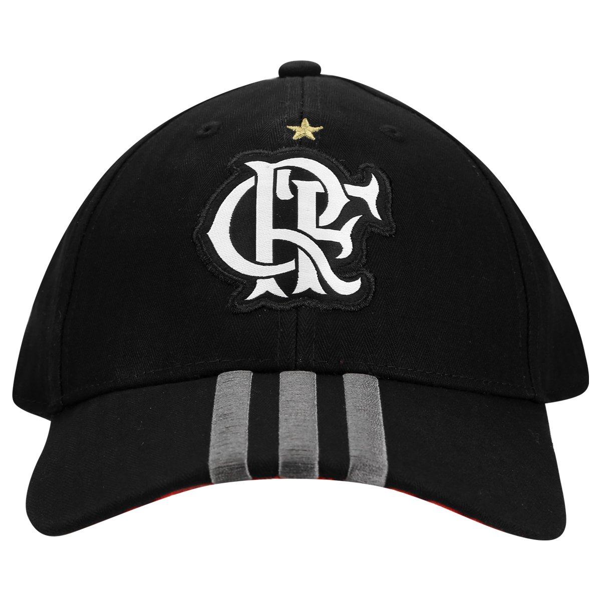 Boné Adidas Flamengo 3S - Compre Agora  228d6025e77