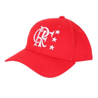 Boné Adidas Flamengo Aba Curva Snapback Tri