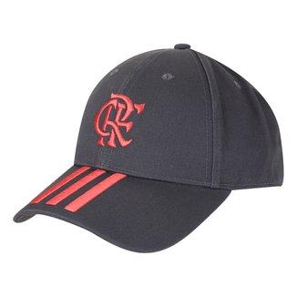 Boné Adidas Flamengo Aba Curva Strapback