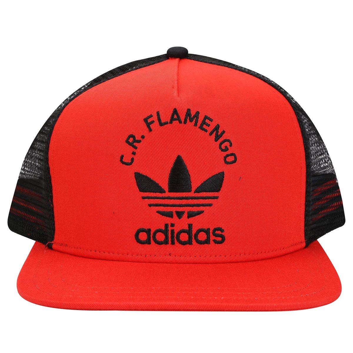 Boné Adidas Flamengo Originals - Compre Agora  4e50bbe9e74