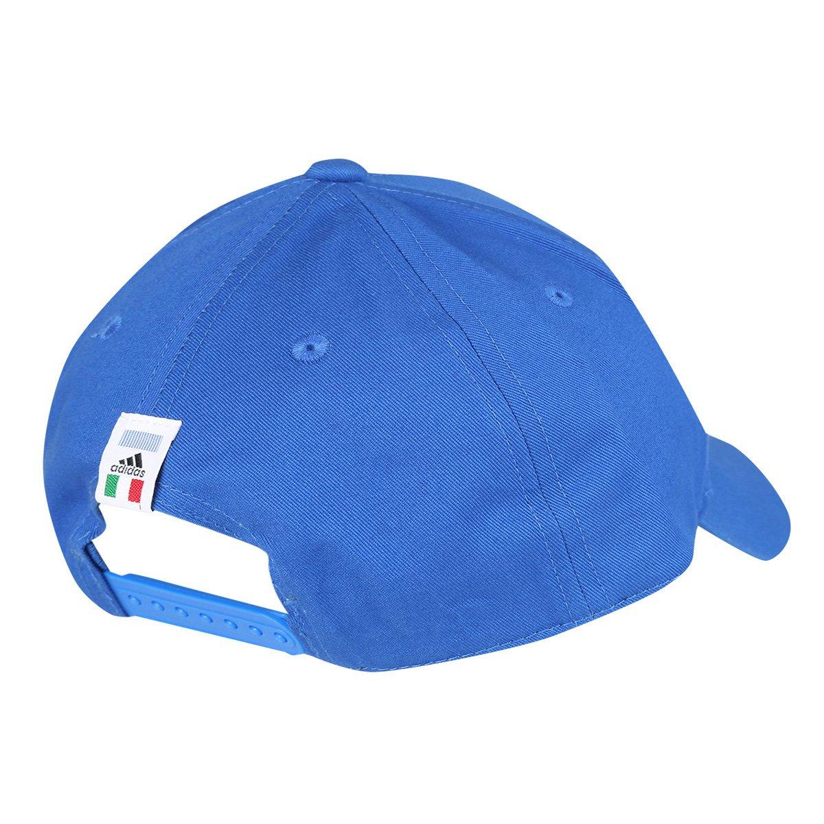 Boné Adidas Itália 3 Stripes Aba Curva - Compre Agora  0e02fcf8830