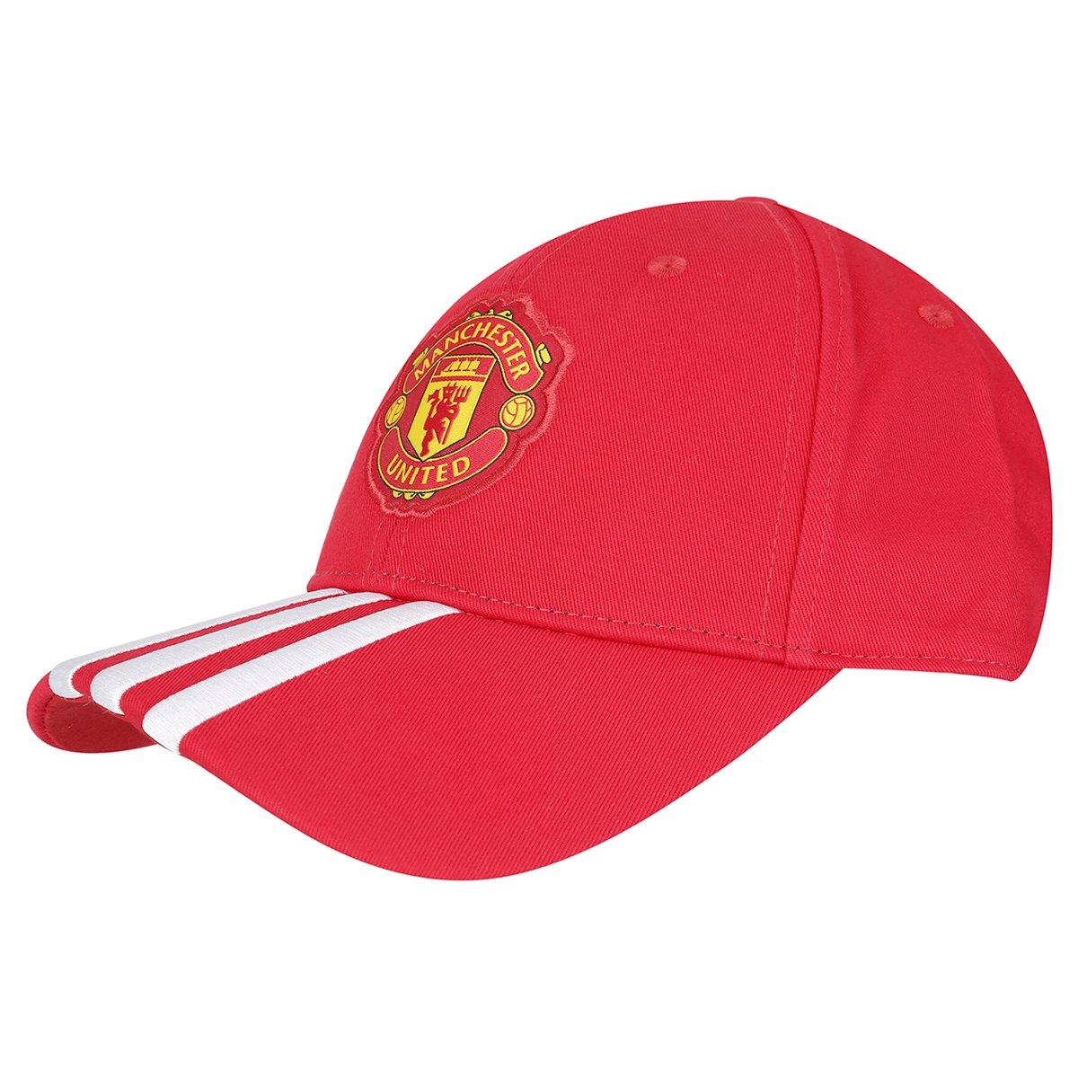 Boné Adidas Manchester United 3S - Compre Agora  85f831d41d3