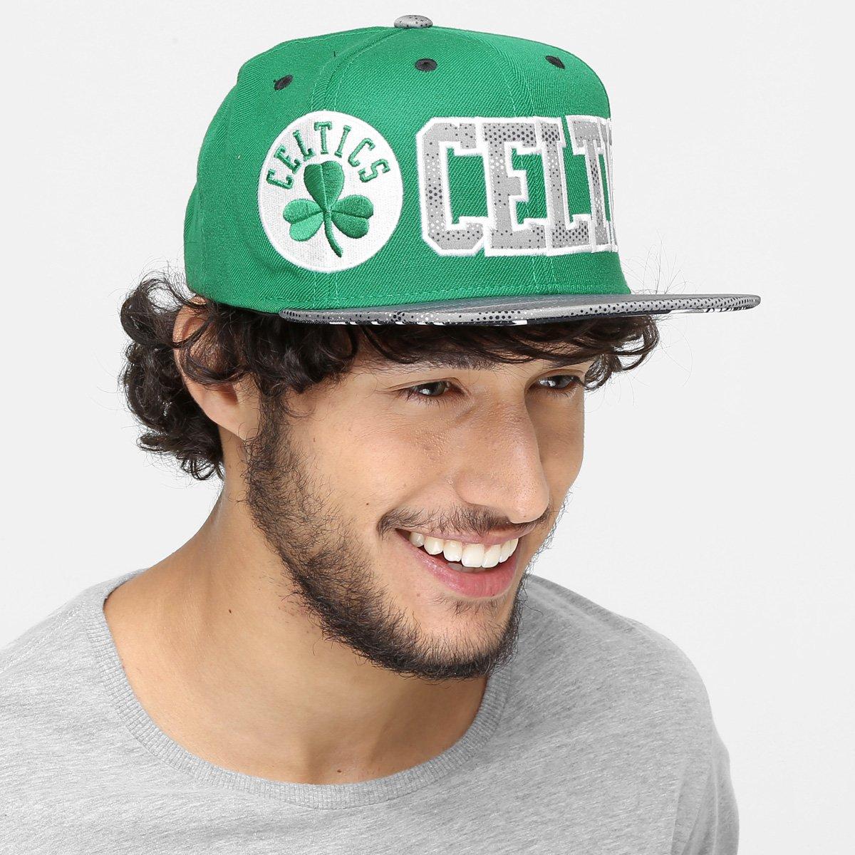 Boné Adidas NBA Flat Celtics - Compre Agora  26b690c0043