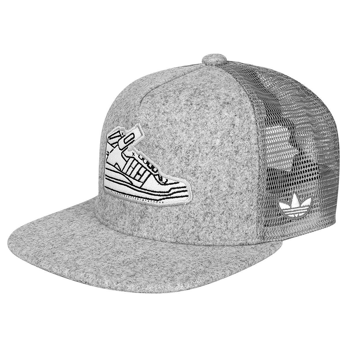 Boné Adidas Originals Trucker Sneaker - Compre Agora  e280a307e41