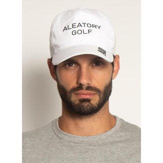 Boné Aleatory Classic Golf Branco-Branco-Único