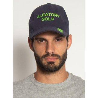 Boné Aleatory Classic Golf Marinho-Azul Marinho-Único