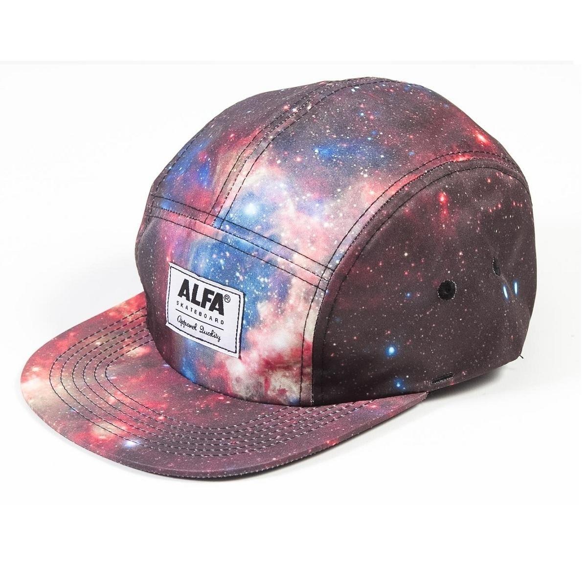 1a3d7eb0a5c00 Boné Alfa 5 Panel Galaxy - Compre Agora