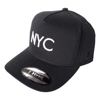 Boné Anth Co New York City Hype Aberto Aba Curva