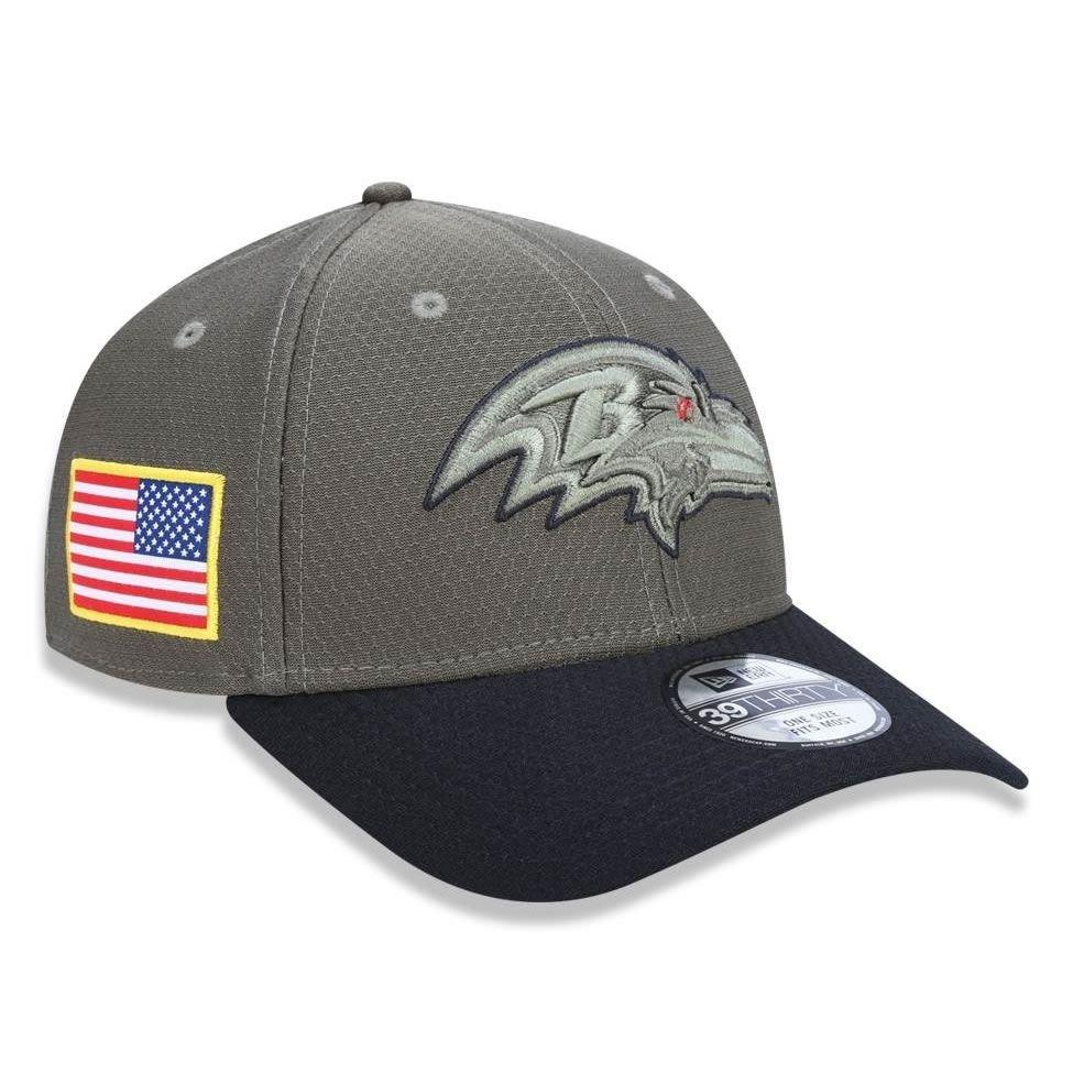 Boné Baltimore Ravens 3930 Salute to Service New Era - Compre Agora ... b7c21f4e871