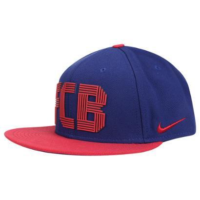Boné Barcelona Nike Aba Reta cdd8f1ff943