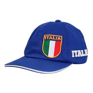 Boné Bordado Retro Itália 1982 Aba Curva