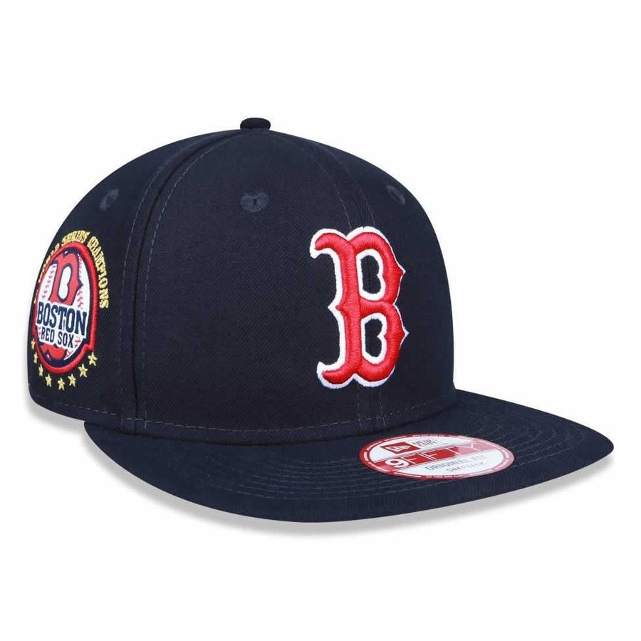 Boné Boston Red Sox Tribute Turn MLB - New Era - Compre Agora  6808a2169ed