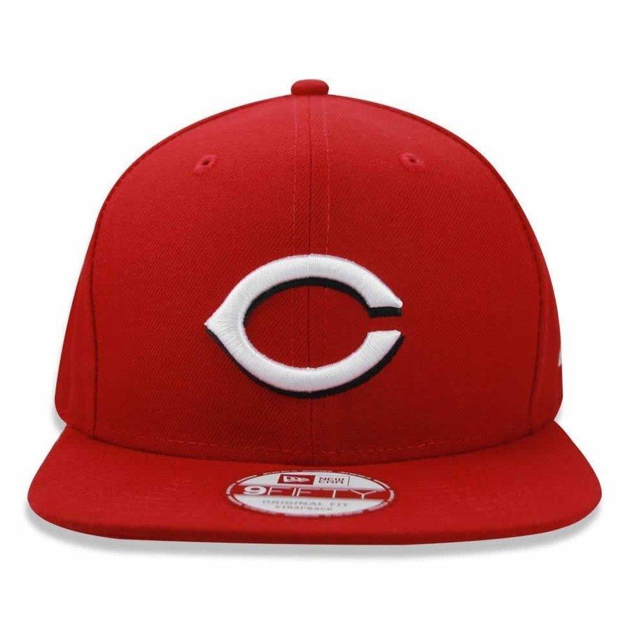 Boné Cincinnati Reds Strapback Team Color MLB - New Era - Compre ... 1938c441f40