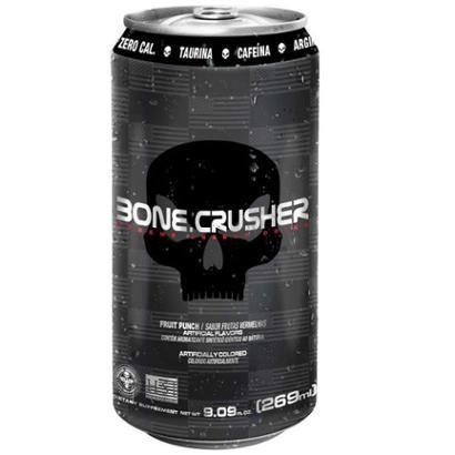 Bone Crusher Energetico 269ml Black Skull