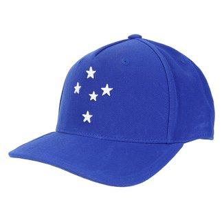 Boné Cruzeiro Adidas Aba Curva