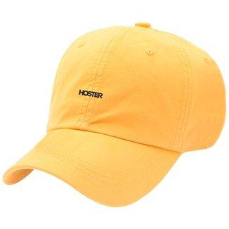 Boné Dad Hat Strapback Aba Curva Amarelo