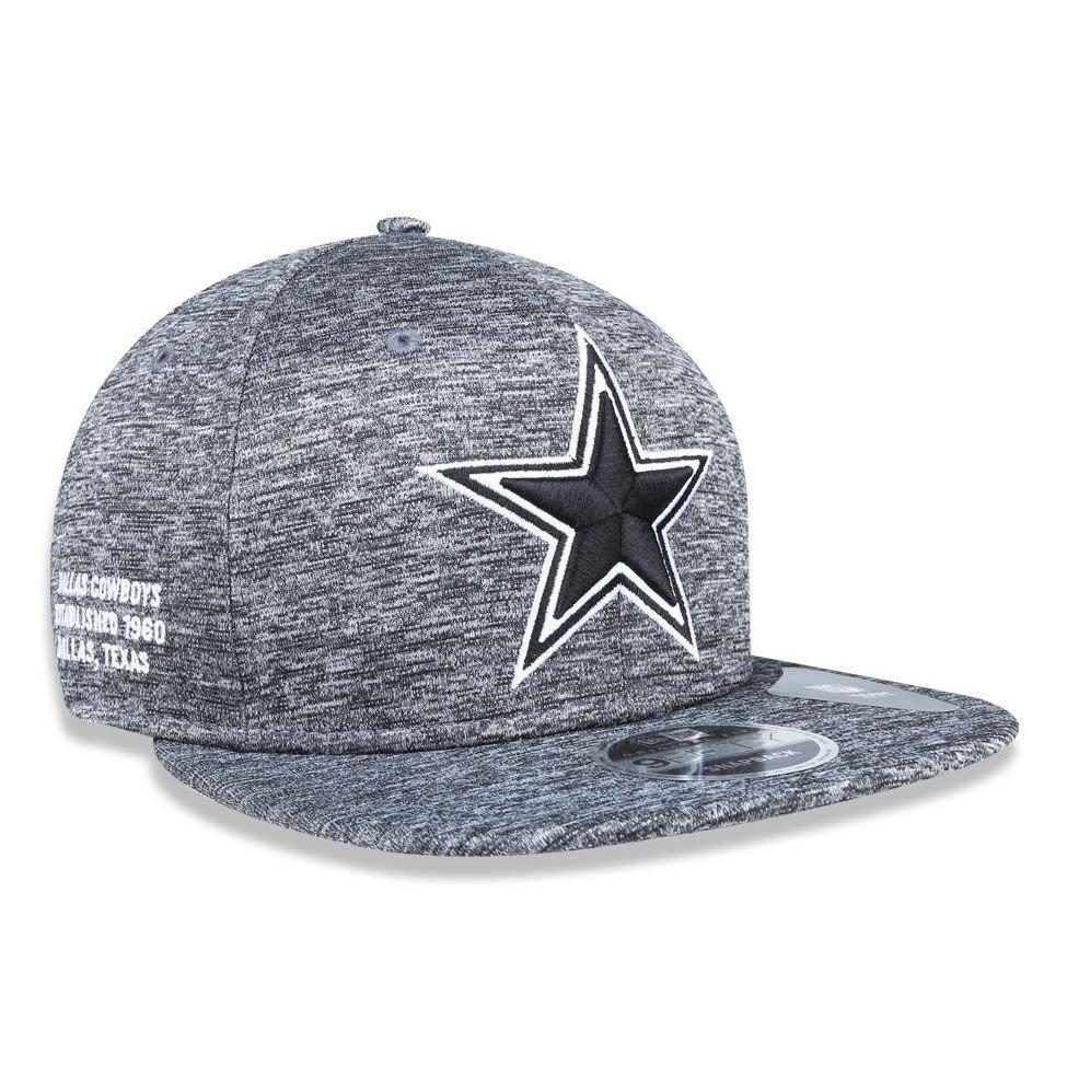 Boné Dallas Cowboys 950 Sthsthblk Snapback New Era - Cinza - Compre ... 877fcf1ce7a