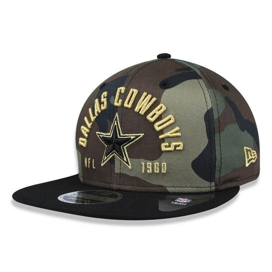 f7f8feb1481d3 Boné Dallas Cowboys 950 Street Militar Snapback - New Era - Compre Agora