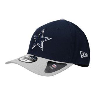 Boné Dallas Cowboys New Era Aba Curva NFL 940 Hc Sn Basic
