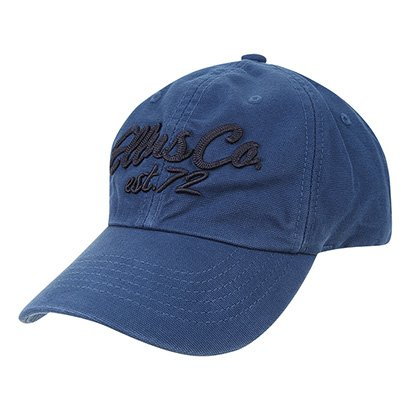 Boné Ellus Aba Curva Bordado Masculino - Azul - Compre Agora  afd9fbe19ee
