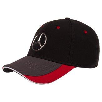 Boné Emotion Unissex Racing Mercedes-Benz