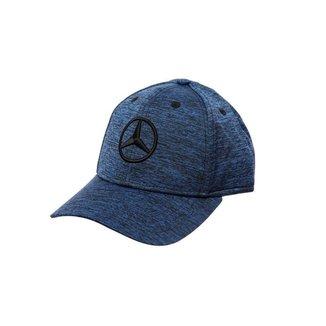 Boné Fashion Star Mercedes-Benz Azul Mescla