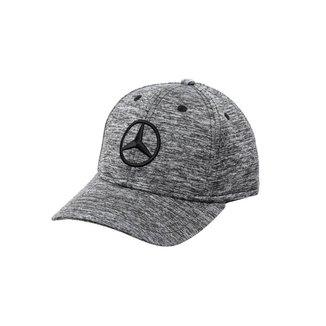 Boné Fashion Star Mercedes-Benz Cinza Mescla Escuro