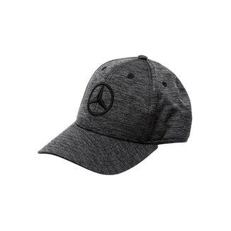 Boné Fashion Star Mercedes-Benz Preto Mescla