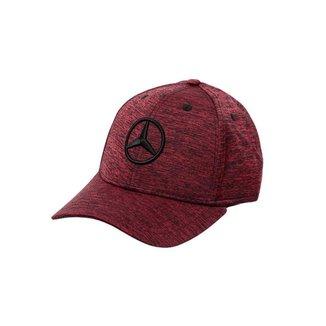 Boné Fashion Star Mercedes-Benz Vermelho Mescla