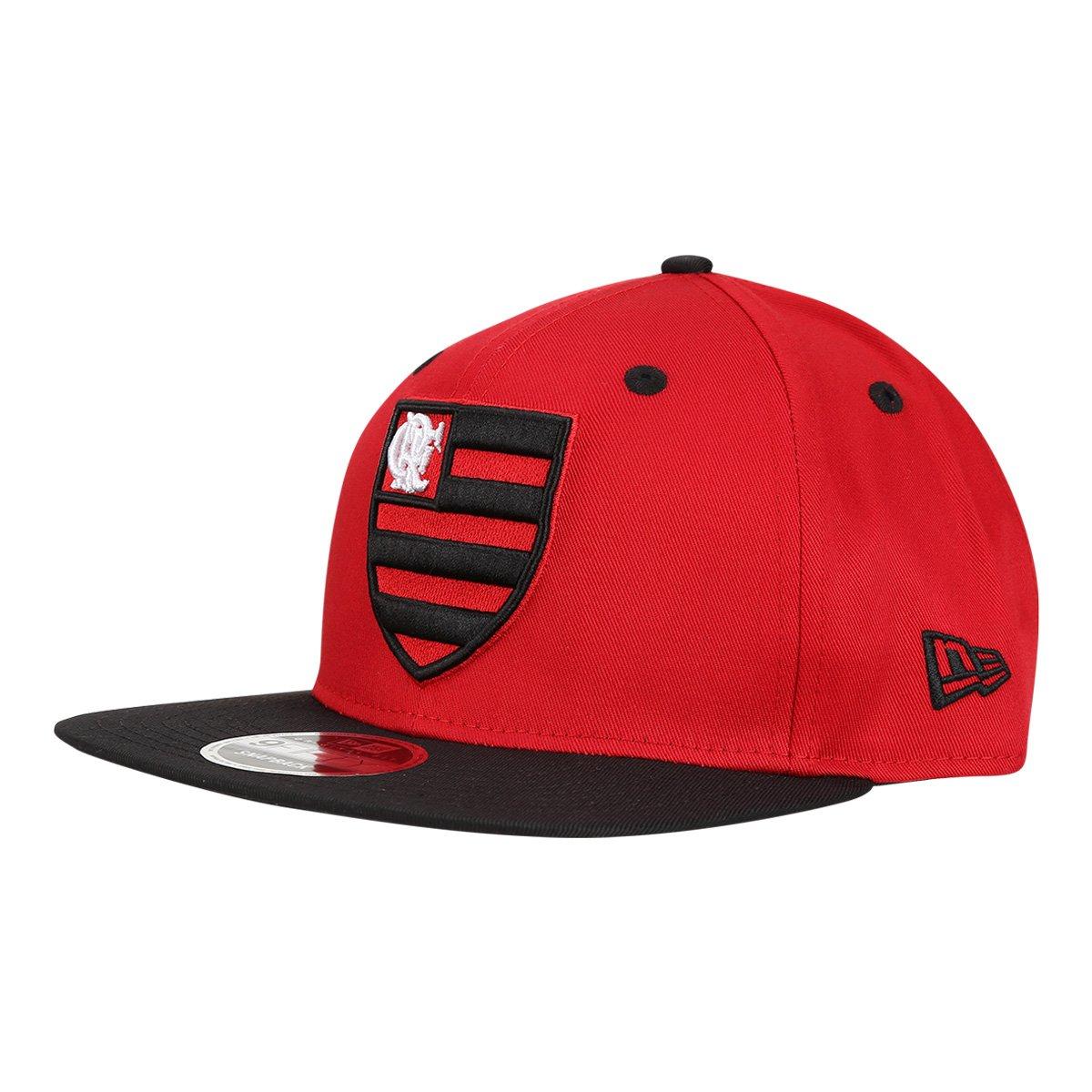 Boné Flamengo 950 New Era Aba Reta SN Masculino - Compre Agora ... 8e24a339991