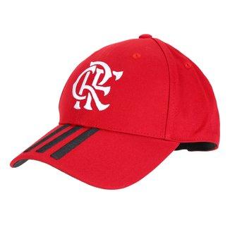 Boné Flamengo Adidas Aba Curva