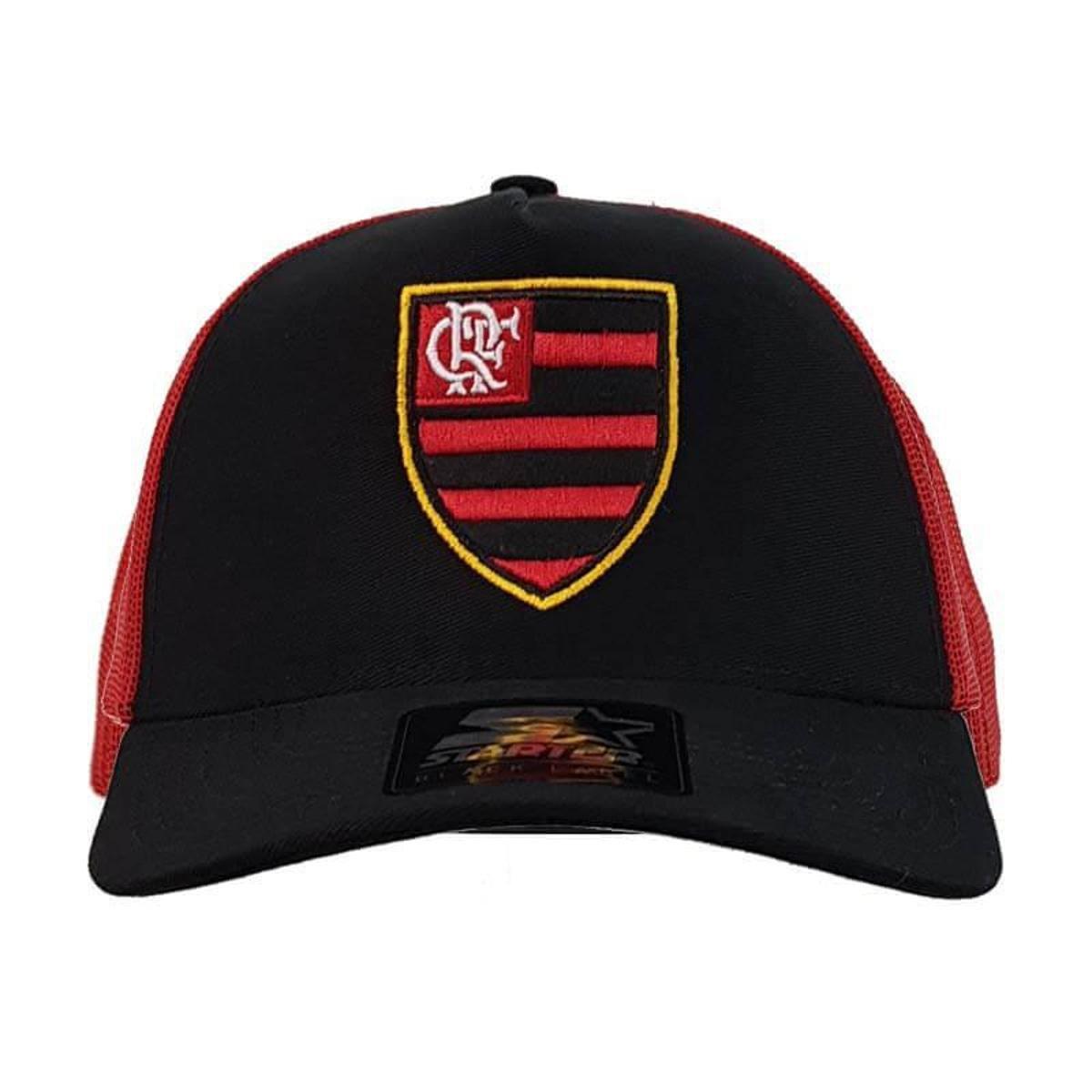 Boné Flamengo AMR Truck Logo Oficial Starter - Preto - Compre Agora ... 56b6c748600