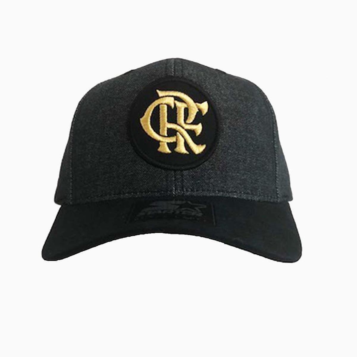 Boné Flamengo CRF Menor Bordado Dourado Starter - Compre Agora ... 6ceb248f543