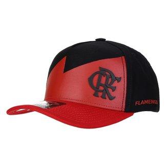 Boné Flamengo Starter Escudo Aba Curva